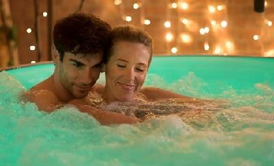 inflatable hot tub LED lights