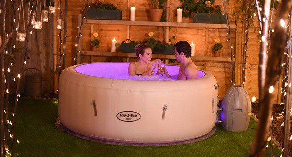 lay z spa paris review inflatable hot tubs reviews. Black Bedroom Furniture Sets. Home Design Ideas