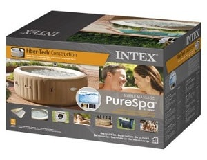 Intex 85 inch PureSpa Portable Bubble Massage Spa box