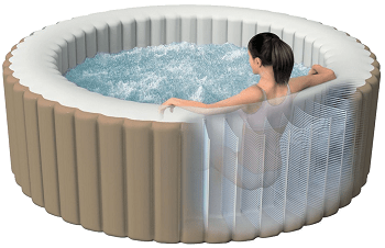 small blow up hot tubs internal construction