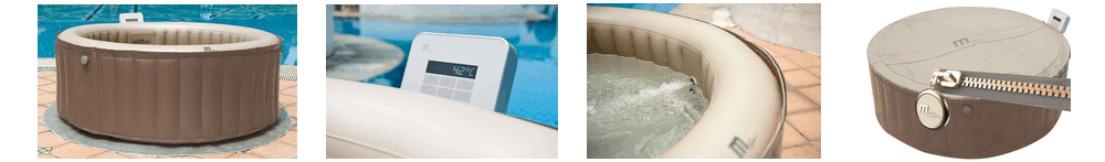 small blow up hot tubs mspa elite jet reve review