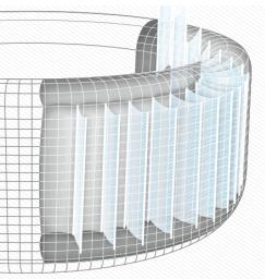 Coleman Portable Hot Tubs construction i-beam