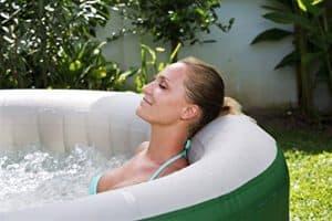coleman portable hot tub reviews coleman lay-z spa capacity